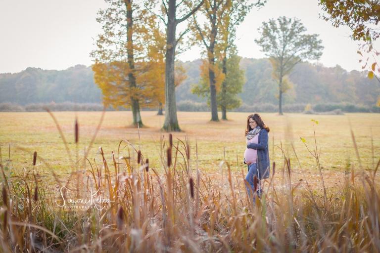 Baby bump Fotos, Rodder Maar, Herbst, Schwanger, natürliche Fotos,